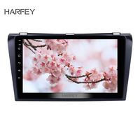 Harfey 9 inch Android 8.1 GPS Navigation for Mazda 3 2004 2005 2006 2009Car Radio Bluetooth Support USB SD 3G WIFI Backup SWC