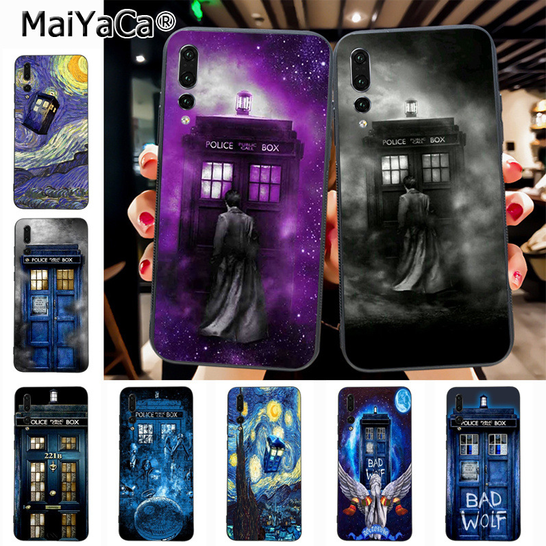 Cellphones & Telecommunications Half-wrapped Case Maiyaca Tardis Tenth Doctor Dr Who In Space Purple Hot Printed Phone Case For Huawei P20 P20 Pro Mate10 P10 Plus Honor9 Case A Plastic Case Is Compartmentalized For Safe Storage