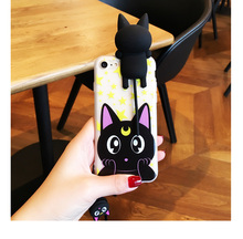 Too lovely Sailor Moon cat-inspired cover for iPhone 7 7 Plus 6 6S 6 Plus