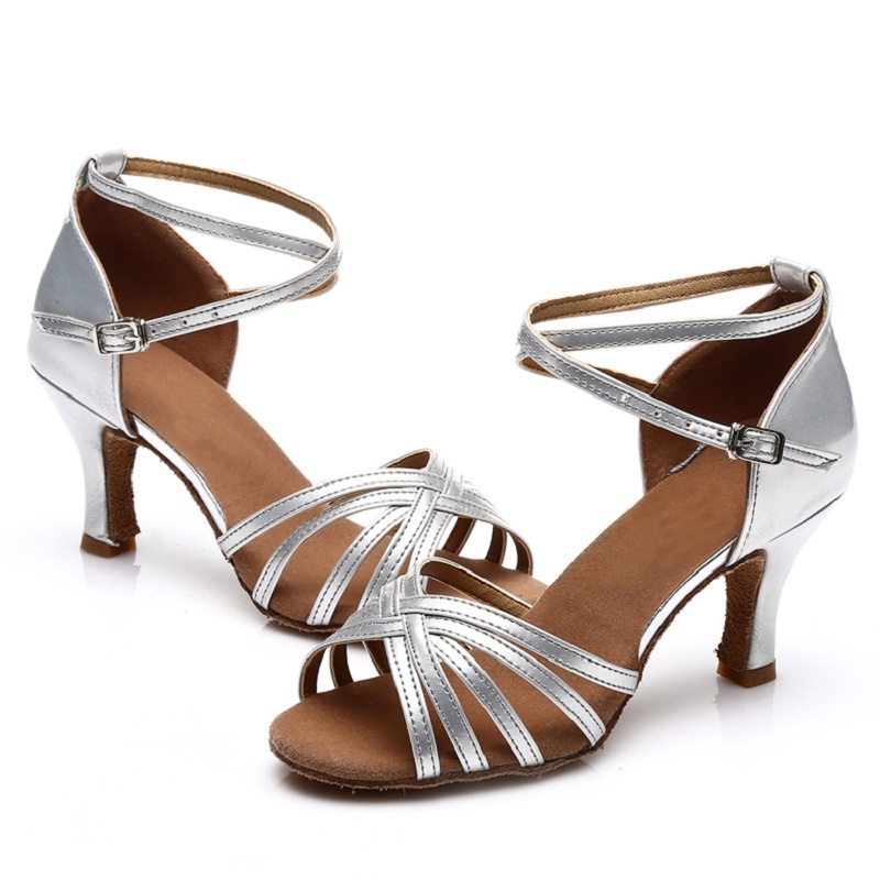 c323ccc58 Professional Women s Latin High Quality sandals leatherette High ...