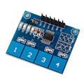 Hot New  1pc Capacitive Touch Switch Module Digital TTP224 4-way Touch Sensor For Arduino