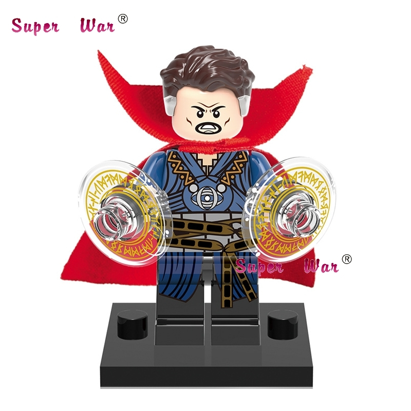 50pcs superhero Doctor Strange movie building blocks action bricks friends for girl boy house games kids