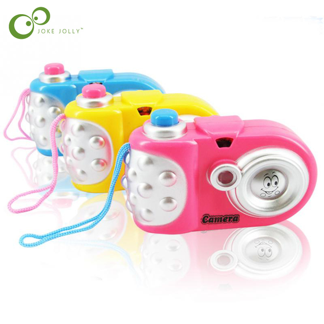 Novedosa cámara de proyección de dibujos animados de juguete de proyección de dibujos animados juguetes para niños juguetes educativos de regalo de bebé