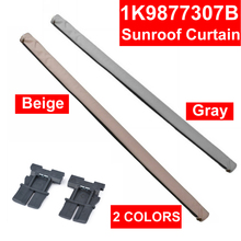 цена Roll Auto Skylight Shutter Sunroof Sunshade Car Interior Curtain Beige Gray For Audi Q5 Sharan Tiguan Golf 1K9877307B 5ND877307