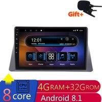 10,1 4G Оперативная память 8 ядер Android Автомобильная dvd навигационная система для Honda Accord 8 2008 2009 2010 2011 аудио для стерео Радио автомобильной wifi ро