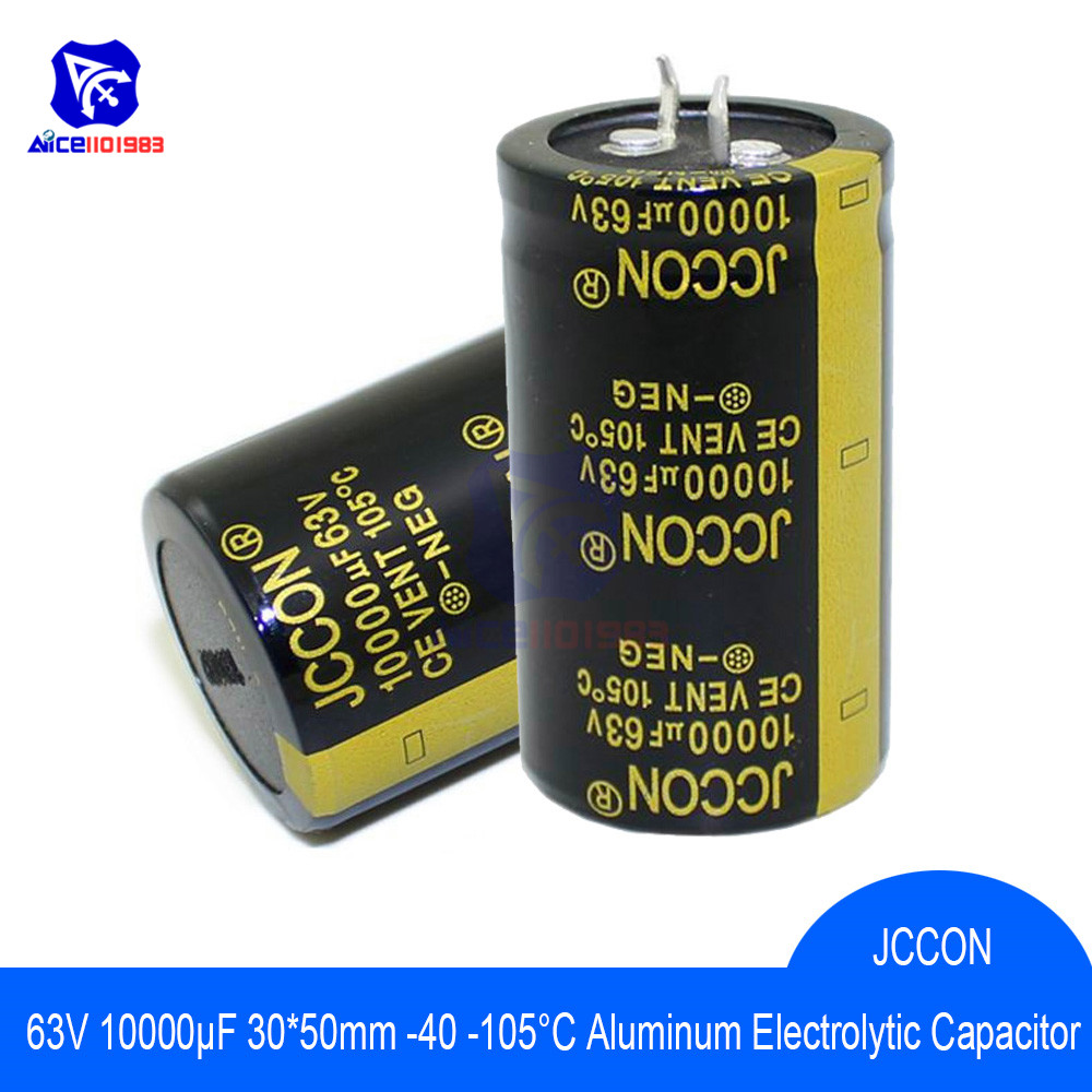 Aluminum Electrolytic Capacitor 63V 10000uF 30x50mm High Frequency Low ESR 63V10000μF 30*50mm Capacitor