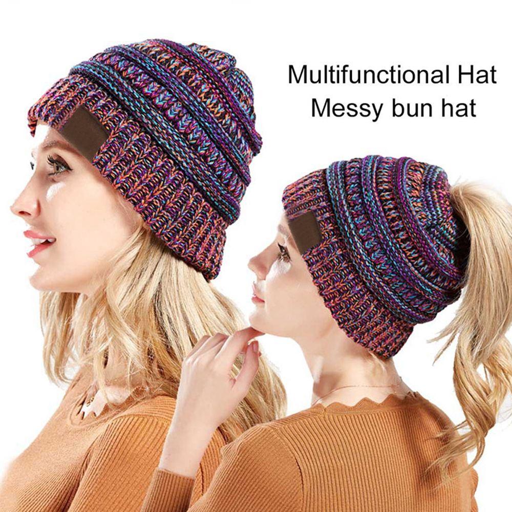 311c50ee123d5 Winter Brand Female Ball Cap Pom Poms Winter Hat For Women Girl  S Hat  Knitted