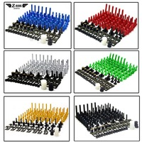 Complete Fairing Bolt nut screw Kit screw For Kawasaki Ninja 650R ER 6F ER 6N ER6F ER6N ninja300 Ninja ZX10R ZX11 ZX1400