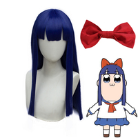 Anime Cosplay Headwear Pop Team Epic Popuko Cosplay Synthetic Hair Pipimi Headwear CM475