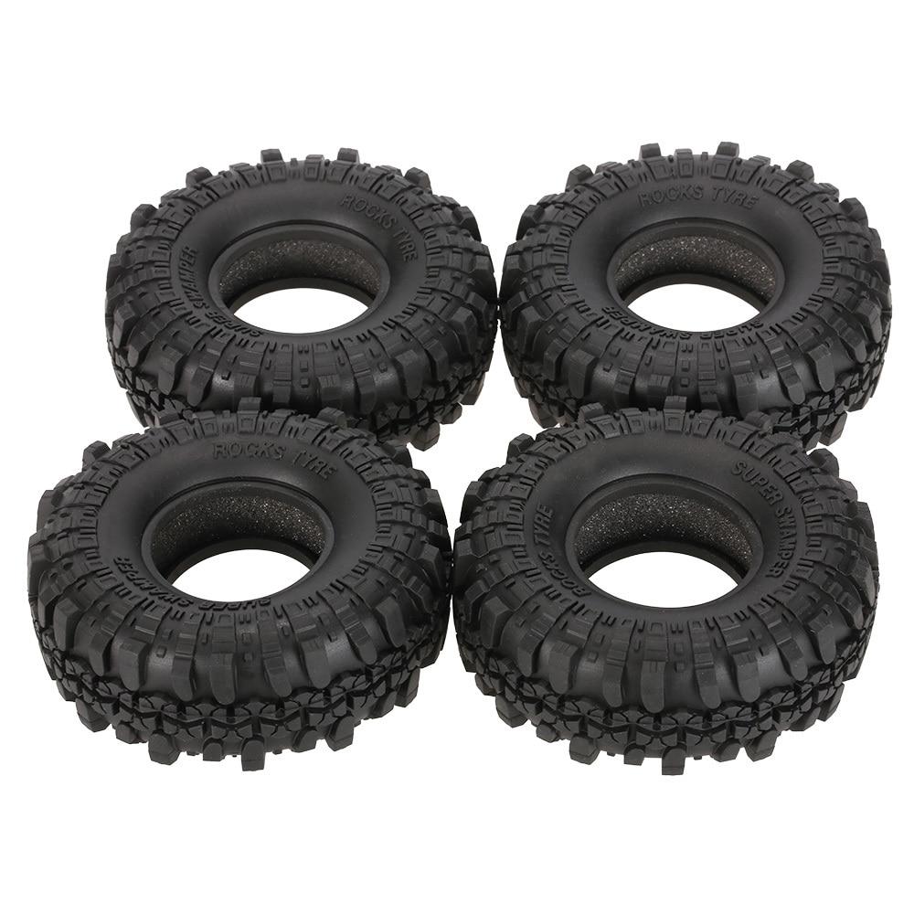 4 piezas AUSTAR AX-4020 1,9 pulgadas 110mm 1/10 Rock Crawler neumáticos para D90 SCX10 AXIAL RC4WD TF2 RC Coche