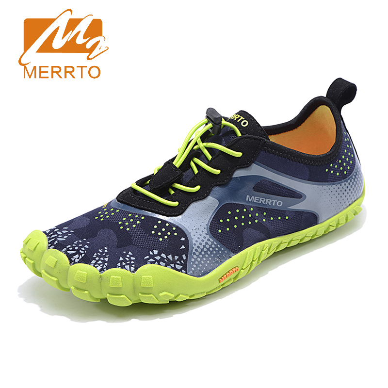 2018 Merrto Mens Breathable Walking Shoes Light Weight Outdoor Sports Shoes Non-slip Travel Shoes For Men Free Shipping MT18680 2017 clorts mens outdoor walking shoes breathable lightweight sports shoes cow suede for men blue brown free shipping 3g020a d