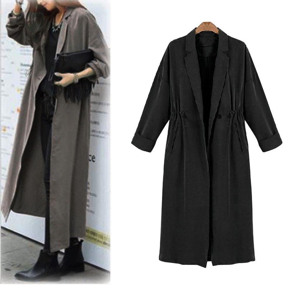 Для женщин леди ветровка кардиган Длинные Топы Верхняя одежда; куртка; пальто 2018 Для женщин ретро цветочные шифон Бикини Cover Up ...