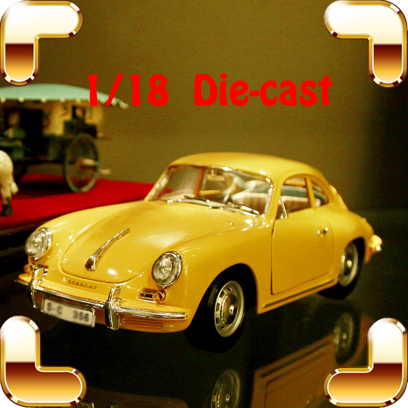 Christmas Gift P356B 1/18 Metal Model Classic Car Alloy Collection Toys Vehicle Die-cast Showcase Decoration Vintage Present портативная bluetooth колонка jbl clip 2 black