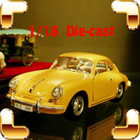 Christmas Gift P356B 1/18 Metal Model Classic Car Alloy Collection Toys Vehicle Die cast Showcase Decoration Vintage Present