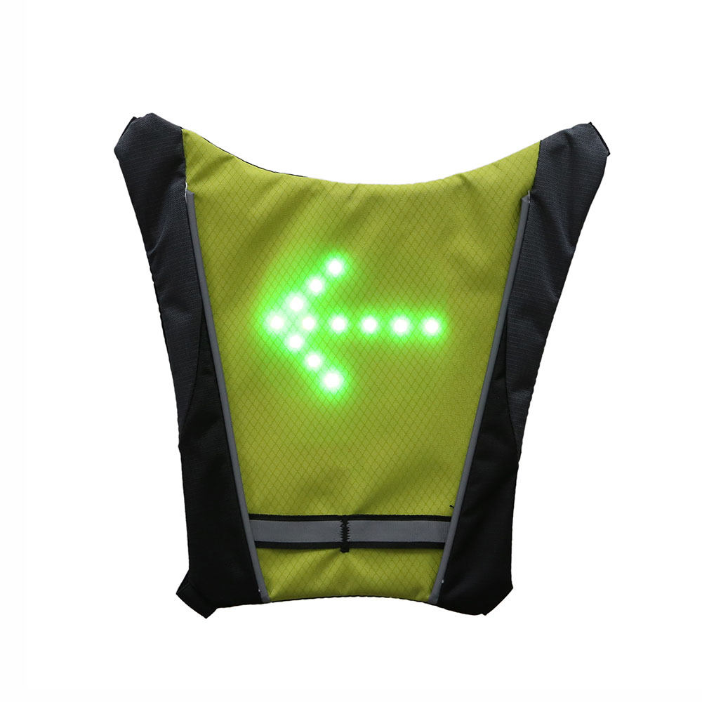 Motorcycle Reflective Safety Vest Outdoor Waterproof LED Turn Signal Vest Moto Bike Night Riding Running Security Gilet Coat in High Visibility Jackets from Automobiles Motorcycles
