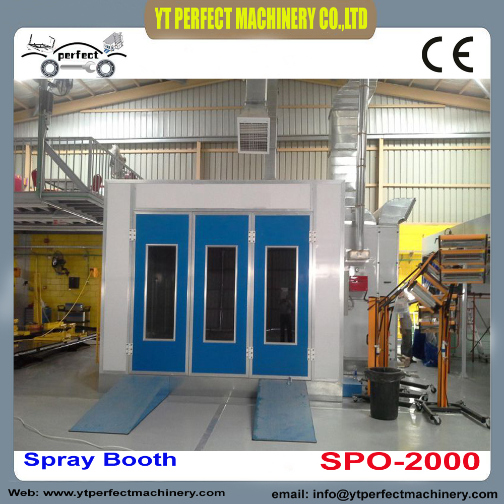 SPO 2000 automotive spray booth used portable spray booth ...