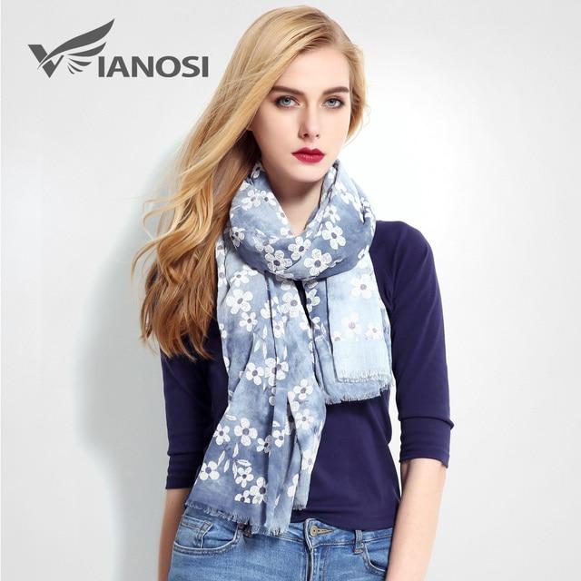 [VIANOSI] Newest Design Cachecol Print Scarf Women Shawls Fashion Scarves Cotton Scarf Woman Foulard VR014