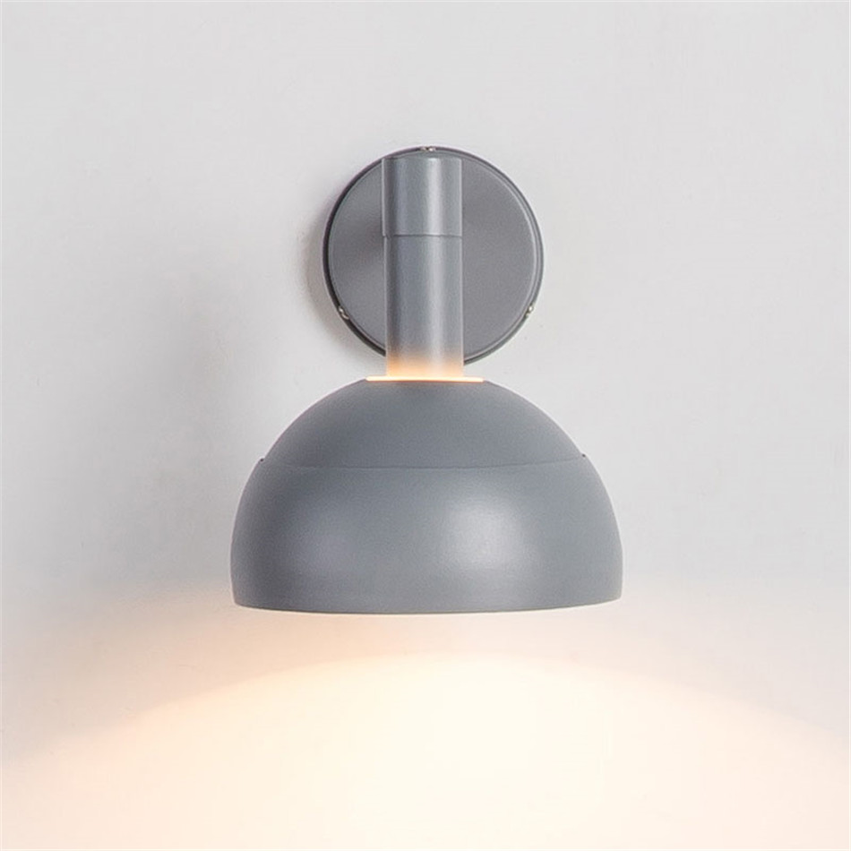 Modern Wall Lamp Loft Style Reding Living Room Wall Light Cafe Coffee Dining Room Corridor Wandlamp Nordic Decor Mirror Light in LED Indoor Wall Lamps from Lights Lighting