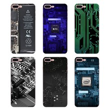 Silicone Phone Shell Cover funny motherboard For Huawei Honor 5A LYO-L21 Y6 II Compact Y5 2 Y5II Mate 10 Lite Nova 2i 9i(China)