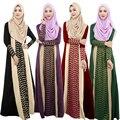 10 unids Dubai Abaya mujeres vestido de los Musulmanes ropa Islámica jilbab Turco y musulmane vestidos Túnica abaya caftán Suelto ropa hijab