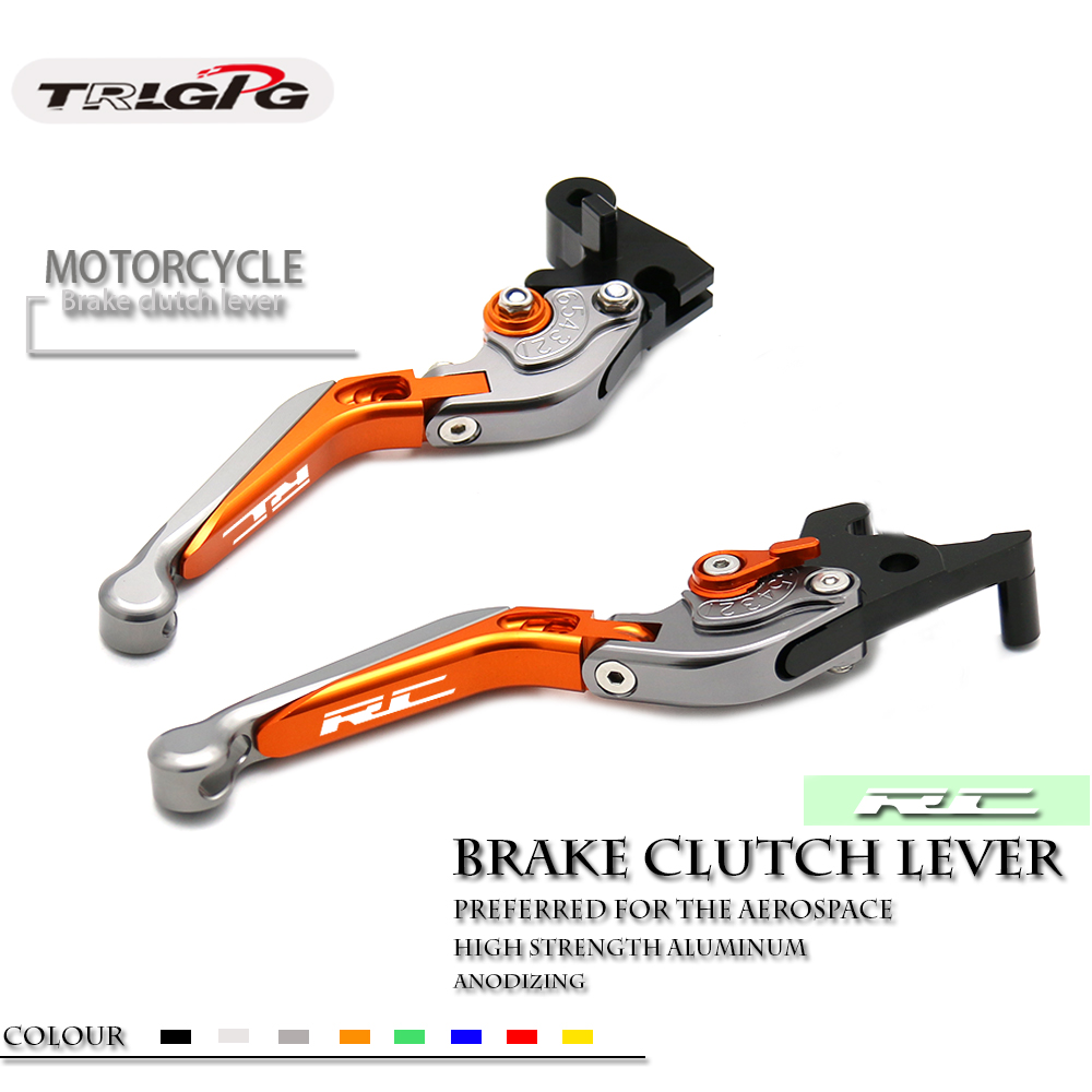 For KTM RC8 RC8R RC8 R 2009 2016 2015 2014 2013 2012 Motorcycle Folding Extendable CNC Moto Adjustable Clutch Brake Levers