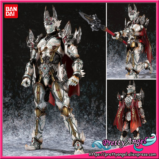 PrettyAngel - Genuine Bandai Tamashii Nations MAKAI-KADO Exclusive GARO White Night Knight Dan Action Figure 100% original bandai tamashii nations s h figuarts shf exclusive action figure garo leon kokuin ver from garo