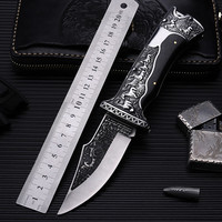 2018 New Free Shipping High Hardness Fixed Combat Tactical Folding Knife Survival Pocket Outdoor Camping Hunting Knives Tools