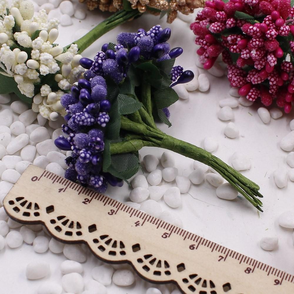 16 12pcs Berry Artificial Stamen Handmade Flower For Wedding Home Decoration Pistil DIY Scrapbooking Garland Craft Fake Flower 1