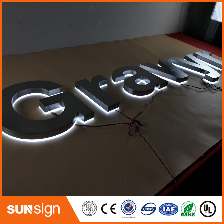 Cutting Mirror/polished Stainless Steel Signs And Letters