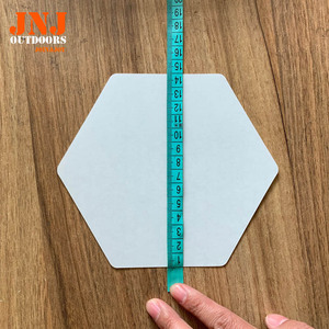 Image 4 - waxless hexagon style surfboard transparent deck traction pad 20pcs a box