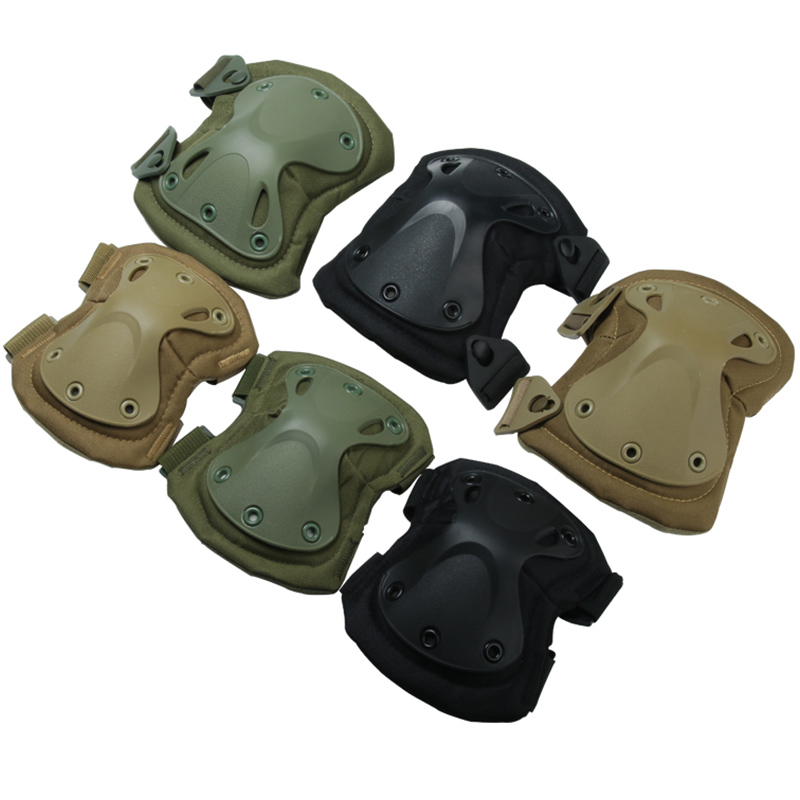 Military Tactical GEN2 Knee Pad Elbow Pads Airsoft Army Uniform Military Accessories Clothing Combat Shirt CS Game SWAT Pantball