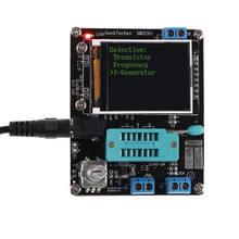 Mega328 tranzystor Tester wskaźnika pokrycia wypływów netto diody pojemności ESR napięcie miernik częstotliwości PWM prostokątny generator sygnałowy zestawy DIY