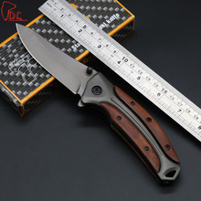 Dcbear High Performance Folding Knife Folder 440C Steel Outdoor Tops Knife 58HRC Tactical Knife EDC Tools