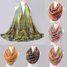 NEW 2017 high quality WOMAN SCARF cotton voile polyester scarves solid warm autumn and winter scarf shawl printed Female Scarves