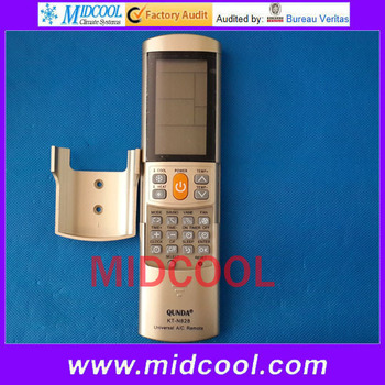 Free shipping good quality kt-n828 universal remote control for a/c