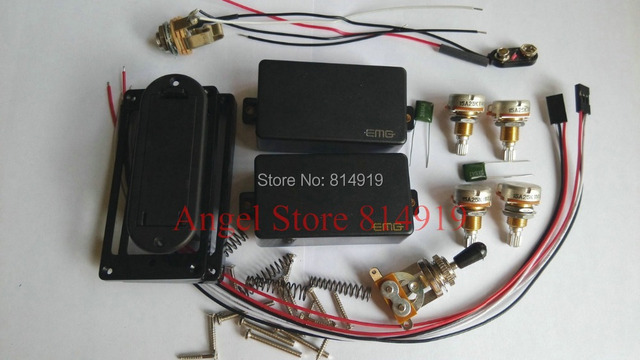1 Set Guitar Pickups 81 / 85 Active Humbucker Pickup Electric Guitar Pickups Power Guitar Parts In Stock