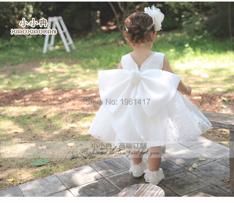 2016 Graceful Quality Baby-girls Lace Dress Baby Dress Can Be Customized Factory Price Free Shipping