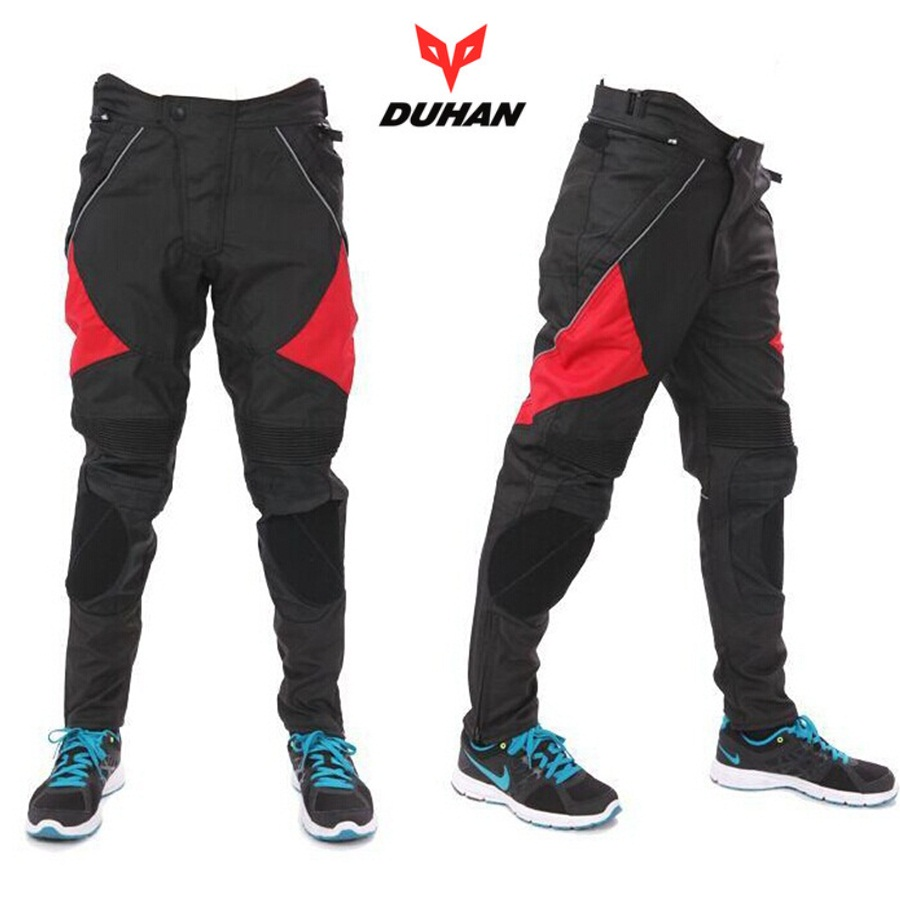 Free shipping 1pcs Men s Motorbike Motorcycle Biker Trousers Windproof Pants Jeans With Protective