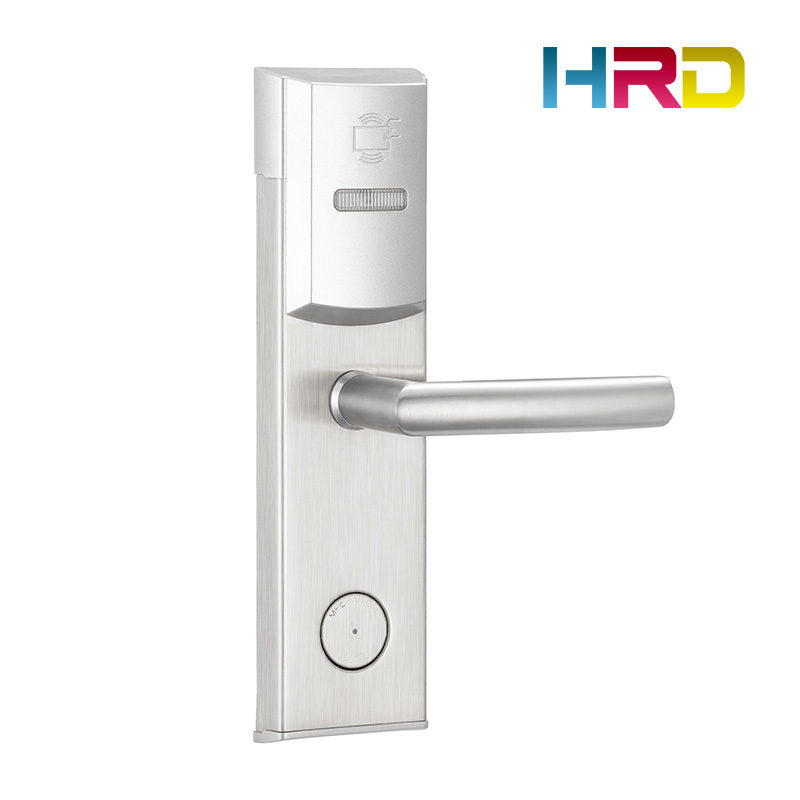 Hotel room door lock rfid 125khz T5577 card hotel lock system hotel card reader door lock цена