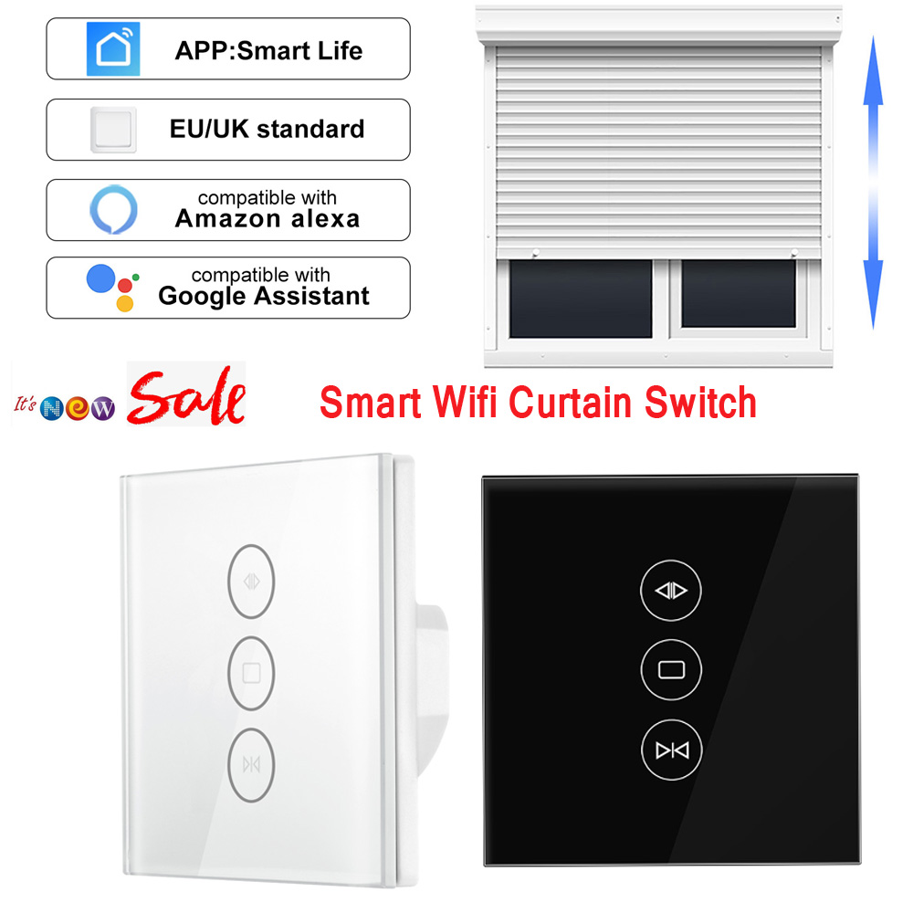 Samrt Curtain-Switch Voice-Control Alexa-Echo Wifi Electric Life By For Mechanical-Limit