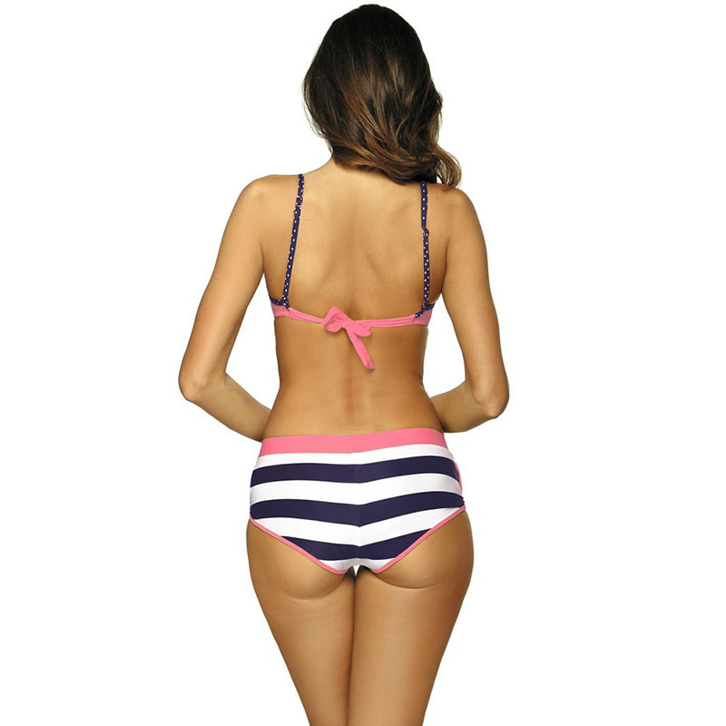 Women Tops with Pants Bikini Suit Fast Dry Skinny Breathable Swimsuit for Summer YS-BUY 3