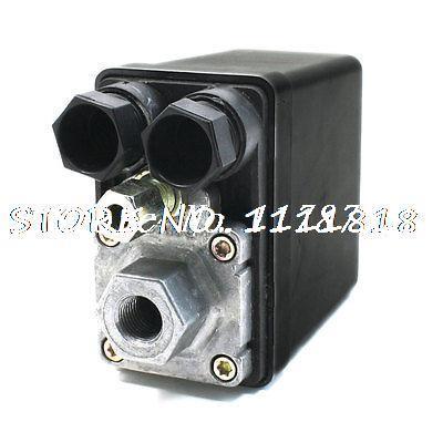Air Compressor Pressure Switch Control Valve AC 240V 15A 175PSI Single Port