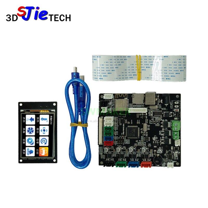 Imprimante 3d MKS Robin MINI STM32 Robin contrôleur carte mère avec écran TFT module wifi à source fermée