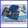 10 Jogos/lote MFRC-522 RC522 RFID RF IC módulo sensor cartão para enviar cartão S50 Fudan, keychain