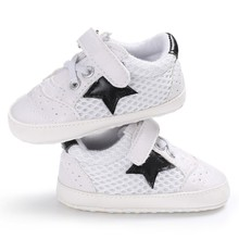 Baby First Walker Shoes Baby Breathable Soft Leisure Shoes F