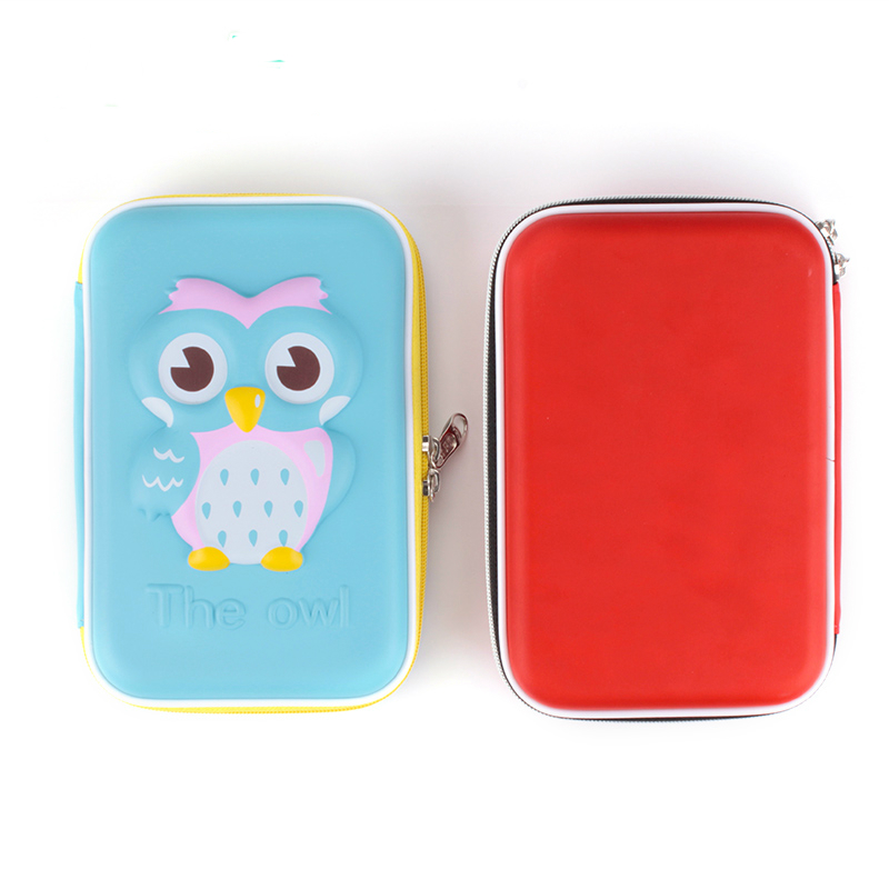 Simple EVA Large Capacity Pen Stationery Box Creative Students Fine Fall Proof Multifunctional Small Box Stationery for School 220803 eva large capacity stationery bags men and women primary school students pencil box wholesale stationery box