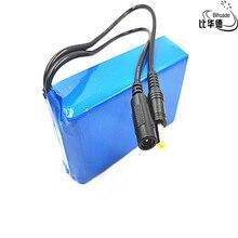 1 шт./партия, 12 В, 10000 мАч, литиевая батарея, перезаряжаемая DC Батарея, полимерная батарея для двигателя монитора, светодиодный фонарь, запасная батарея на открытом воздухе
