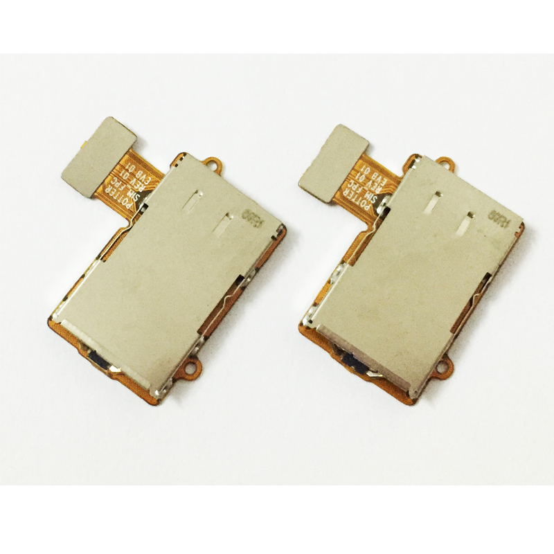 10 Pcs/Lot, SIM Card Reader Holder Slot Ribbon Mobile Phone Cables For MOTO G5 Plus Repair Parts New Original