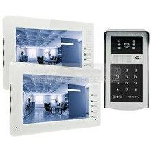 DIYSECUR 7 inch HD TFT LCD Monitor Video Door Phone Video Intercom Doorbell 300000 Pixels Night Vision Camera RFID + Password