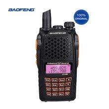 100% Оригинальный Портативный 2 полосный радиоприемник baofeng